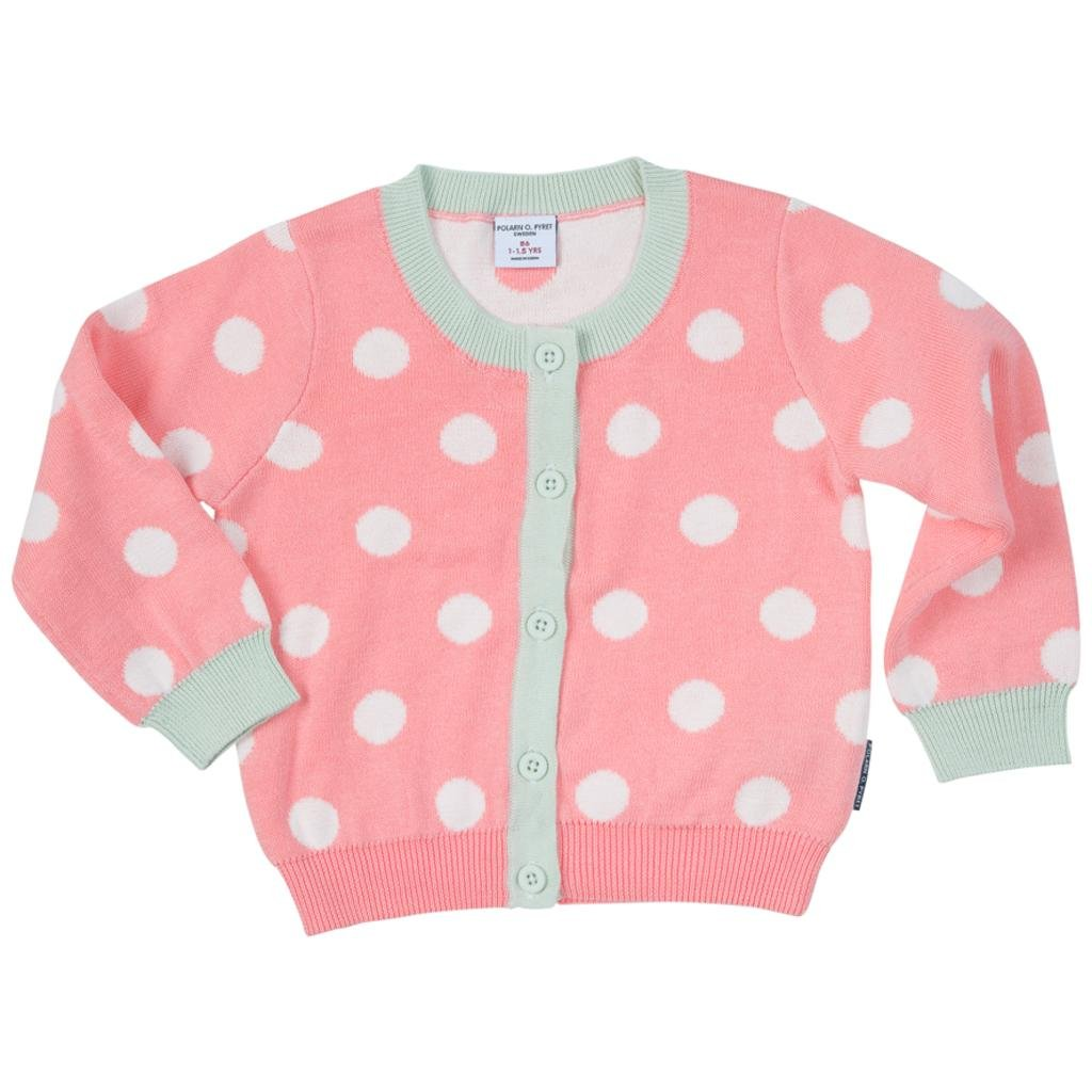Polarn O. Pyret Dotty My Cardigan (Baby)