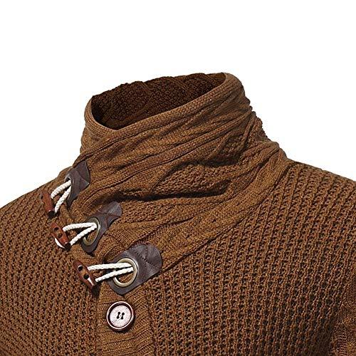De Betrothales Cardigan En Maille Homme T Kamel Sweatshirt shirts tqE4E