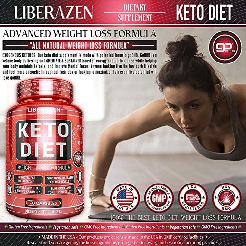 Keto Diet Pills - Instant Exogenous Ketones for Fuel and Natural Burn and Fat Loss Blast - Advanced Weight Loss Pure Keto Supplements for Fast Ketosis - 60 Capsules 2
