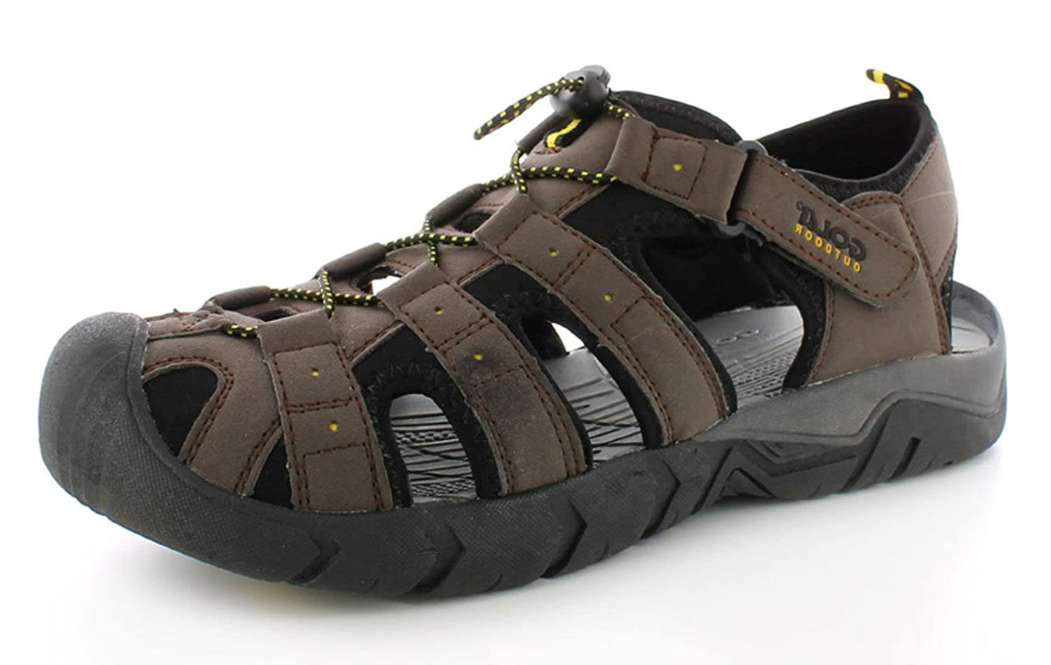 958f39e1613b Gola New Mens Gents Dark Brown Closed Toe Walking Sandals. - Dark  Brown Black Sun - UK SIZE 6  Amazon.co.uk  Shoes   Bags