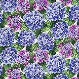 Beverly Park ~Large Hydrangeas~Cotton Fabric by RJR Fabrics