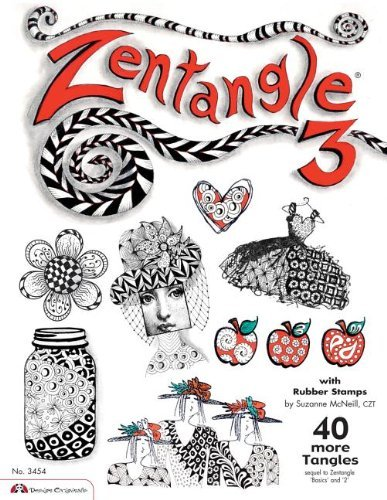 Zentangle 3: with Rubber Stamps by McNeill CZT, Suzanne (2010) Paperback