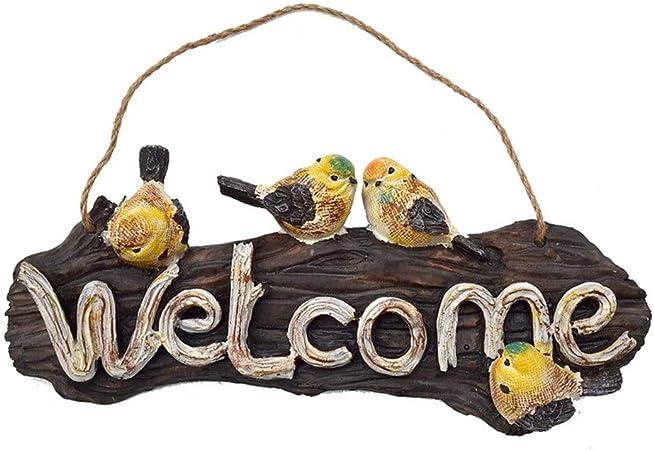 Nouveau en bois signe divers signes bois Bienvenue Plaque Signe home decor signe