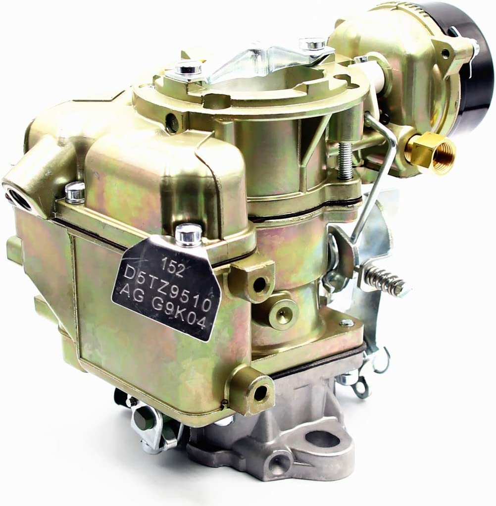D5TZ9510AG Carburetor for Ford YF C1YF 6 CIL Type 240 250 300 Engine 6 Cylinder 1975-1982 Replaces/RSC-300A 6307S 6054 C1YFA C6203 Automatic Choke