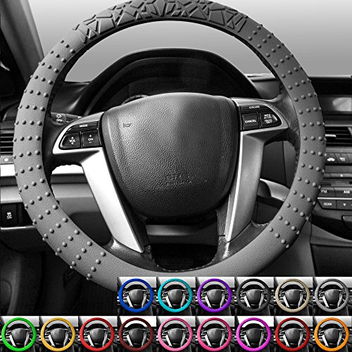 [해외]FH 그룹 FH3002 실리콘 W. 닙 (Nibs & amp; /FH GROUP FH3002 Silicone W. Nibs & Pattern (Massaging grip)Steering Wheel Cov