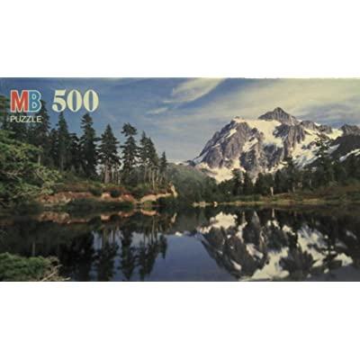 Mt. Shuksan, WA 500pc Puzzle: Toys & Games