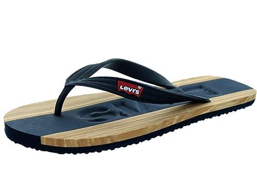 Levis Jayden Men's Sandals Navy/Tan 516443-72u (7 D(M)