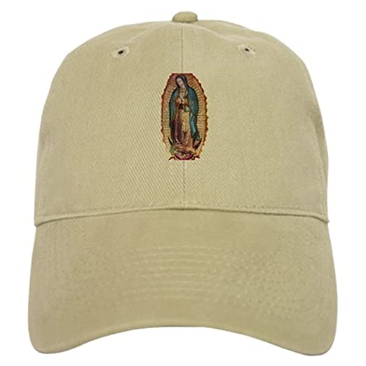 37a27122 Amazon.com: CafePress - Our Lady of Guadalupe Cap - Baseball Cap ...