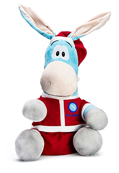 SSC Calcio Napoli peluche Mascotte Asinello Natale  Amazon.it ... 580fc1bd9874d