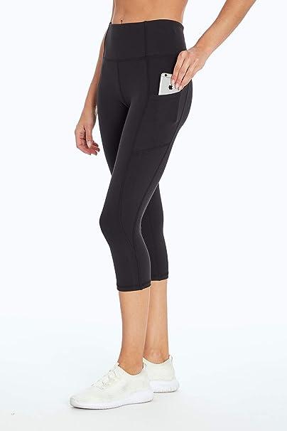 Jessica Simpson Sportswear Women's Tummy Control Pocket Capri Legging