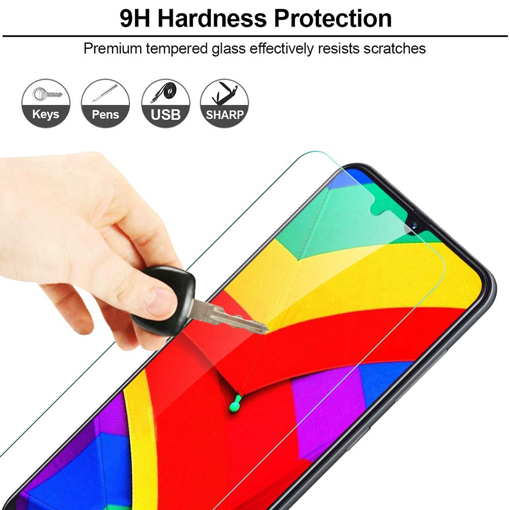 Alta Definicion, Sin Burbujas, 9H Dureza, Anti-Rasgu/ños IRROT Protector de Pantalla para Xiaomi Redmi 7 Cristal Templado para Xiaomi Redmi 7 3 Piezas