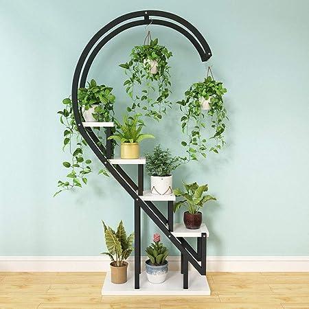 Soporte De Plantas Con Gradas Soporte Para Macetas De Plantas Capa Interior De Metal Colgante Para