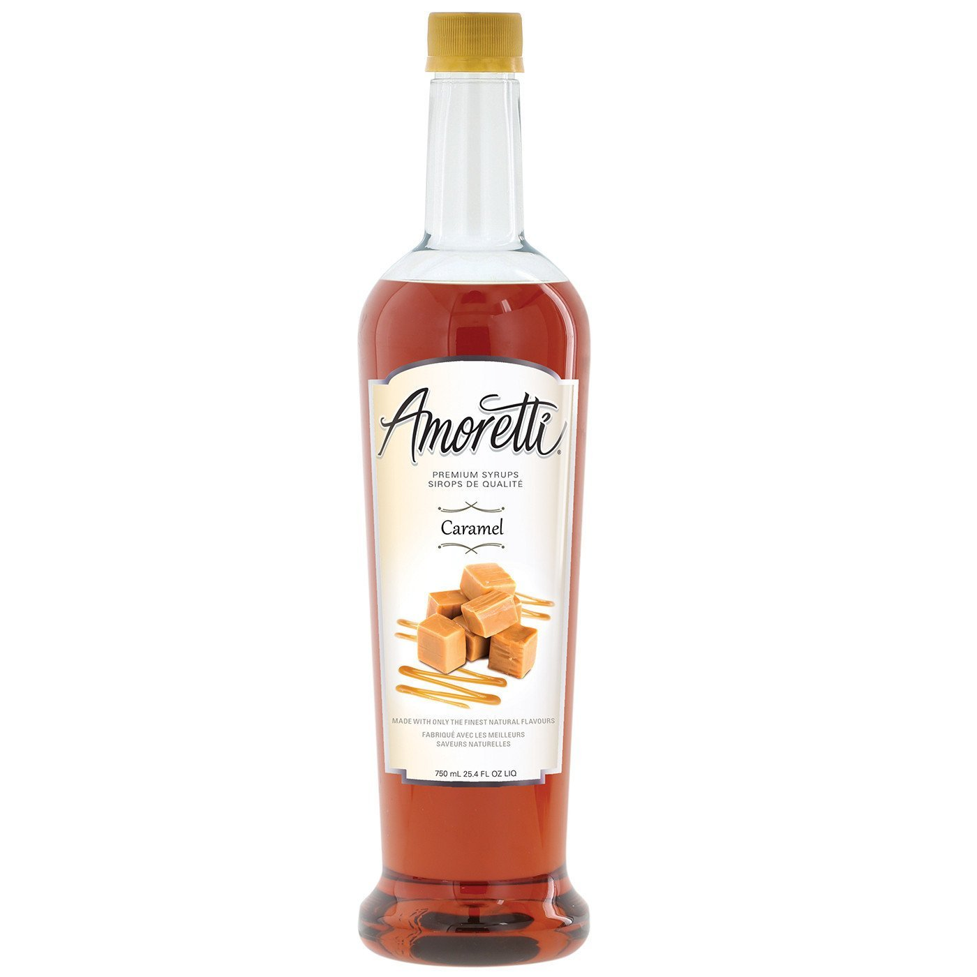 Amoretti Premium Syrup, Caramel, 25.4 Ounce by Amoretti (Image #1)