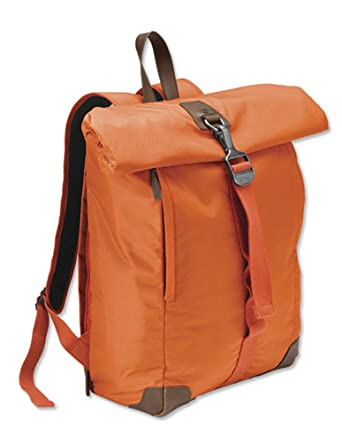 sells official purchase cheap Orvis 1856 Lightweight Roll-top Backpack, Orange: Amazon.co.uk ...