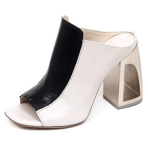 Vic Matie E9480 Sandalo Donna Grey Black AVINTON Scarpe Sabot Shoe Woman   Amazon.it  Scarpe e borse 97ee58993a8