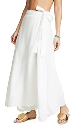 c1f05ec125f Vitamin A Women s Positano Linen Cover Up Skirt at Amazon Women s ...