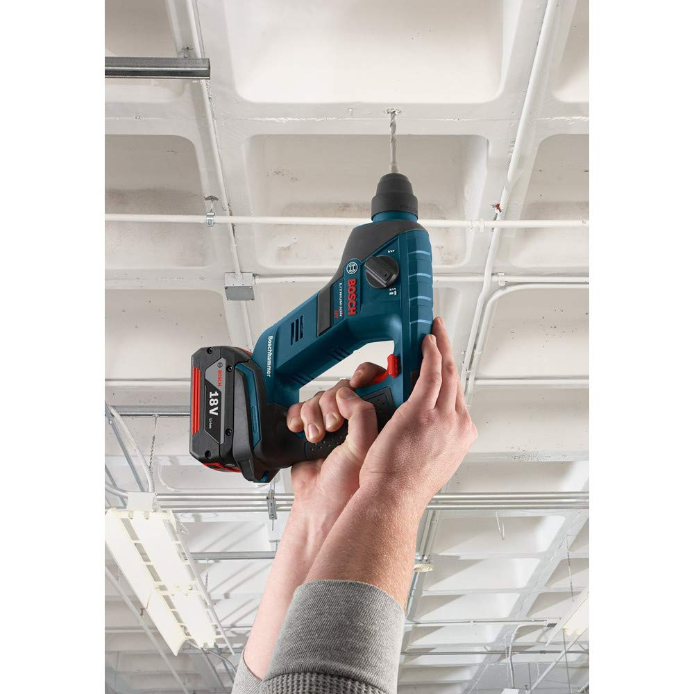 Bosch Bare-Tool RHS181BL 18-Volt Lithium-Ion 1/2-Inch SDS-plus Compact Rotary Hammer by Bosch (Image #3)