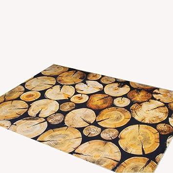 Modernes Wohnzimmer Wohnzimmer Teppich Matte Matte Matratze Couchtisch  Teppich Gelb Polyester Material Stangen Muster Rechteckig 200 ...