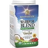 Sunwarrior - Warrior Blend, Raw, Plant-Based Protein, Vanilla, 40 Servings (2.2 lbs)