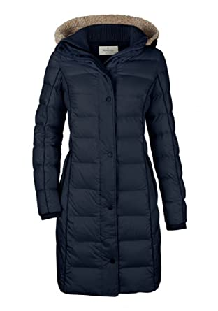 MILESTONE - Abrigo - chaqueta guateada - Manga Larga - para mujer: Amazon.es: Ropa y accesorios
