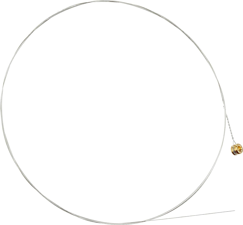 D'Addario PL009, cuerda individual de acero liso para guitarra, plateado.009