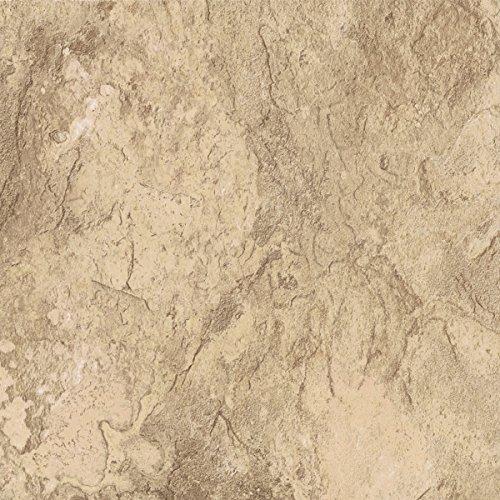 "Congoleum DuraCeramic Sierra Slate 16"" x 16"" Golden Greig..."