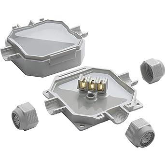 READY BOX 90 IP68 - Caja de conexión de gel con 3 entradas de cable (M25 x 1,5): Amazon.es: Industria, empresas y ciencia