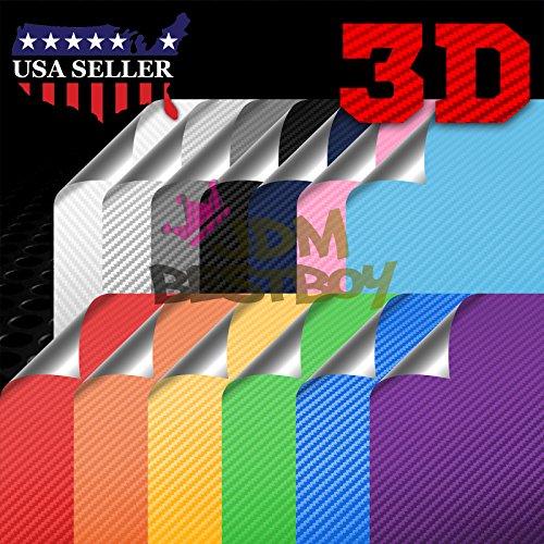 (Sample Satin Chrome Gold 3D Carbon Fiber Textured Matte Car Vinyl Wrap Sticker Decal Film Sheet - 4