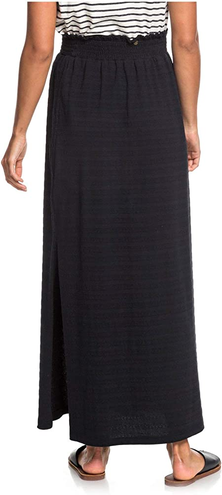 Roxy - Falda Larga - Mujer - XS - Negro: Amazon.es: Ropa y accesorios