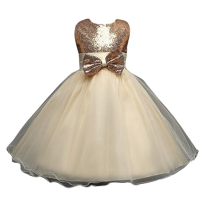wuxi Sweet Princess Dresses - Tutu Wedding Dress Encaje Vestidos de Niña de Las Flores para Novias Nupciales Desfile Festivo Vestido Festivo: Amazon.es: ...