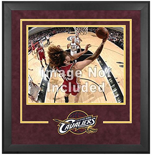 Cleveland Cavaliers Deluxe 16'' x 20'' Frame - Fanatics Authentic Certified - NBA Other Display Cases by Sports Memorabilia