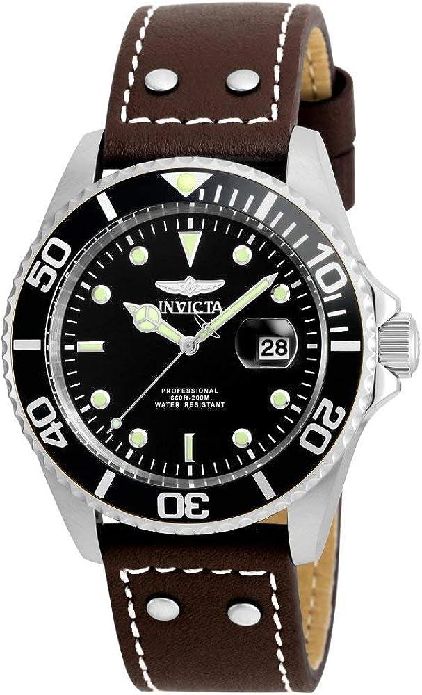 Invicta Men s 22069 Pro Diver Analog Quartz Brown Watch