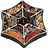 Rubies Costume Co Spiderweb Candy Treat Tray Multicoloured One Size