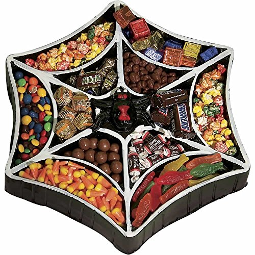 Rubies Costume Co Spiderweb Candy Treat Tray Multicoloured One Size by Rubie's (Image #1)