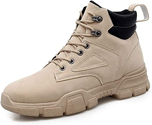 Work Ankle Boots for Men Lace