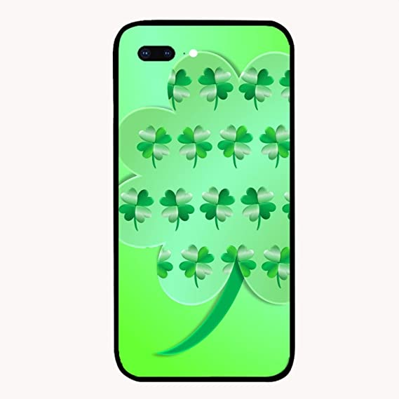 Amazon com: Brightly Clover iPhone 7/8Plus Case with 9H,Drop