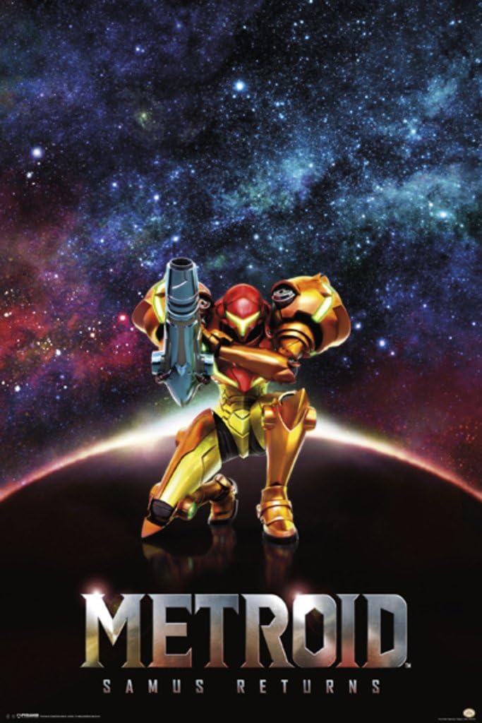 Pyramid America Metroid Samus Returns Video Game Gaming Cool Wall Decor Art Print Poster 36x24