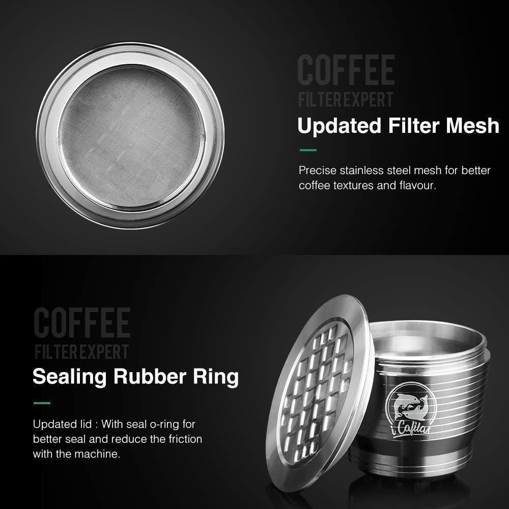 Cápsula de café reutilizable Vansiho (cuadrada) Cápsula de café ...