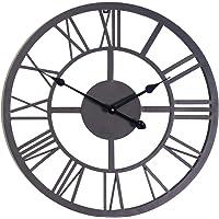 Gardman Reloj con números Romanos, Negro, 42x 4x