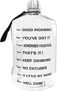 Sweepstakes - BuildLife 1 Gallon Water Bottle Motivational...