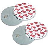 2 supports de fixation pour caméras de sécurité, des détecteurs de mouvement ou sonnette sans fil - Installation facile - Lot de 2 - 4VWIN
