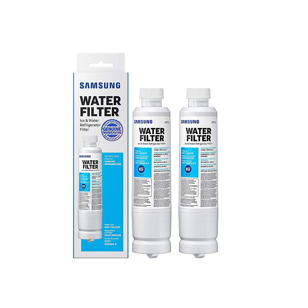 Samsung DA29-00020B HAF-CIN/EXP Refrigerator Water Filter (2 Pack) by Samsung