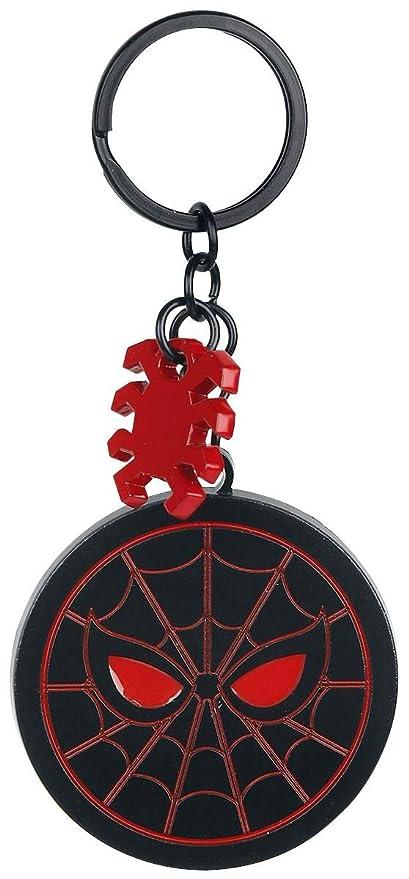 Spider-Man Homecoming - Logo Llavero Negro/Rojo: Amazon.es ...