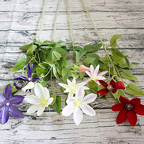 Teydhao-1Pc-3-Branches-Artificial-Lotus-Simulation-Flower-Garden-Wedding-Desk-Decoration-Artificial-Plant-with-Silk-Flowers-for-Wedding-Decor-and-Table-Centerpieces-Purple