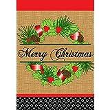 "Magnolia ""Lane Merry Christmas Burlap Garden Flag Review"