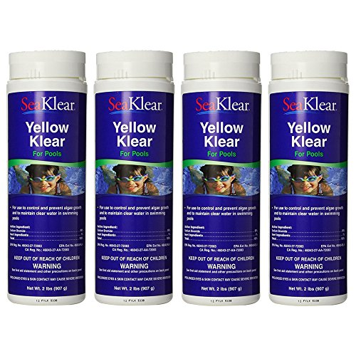 SeaKlear 4 Pack Yellow Klear 2Lb