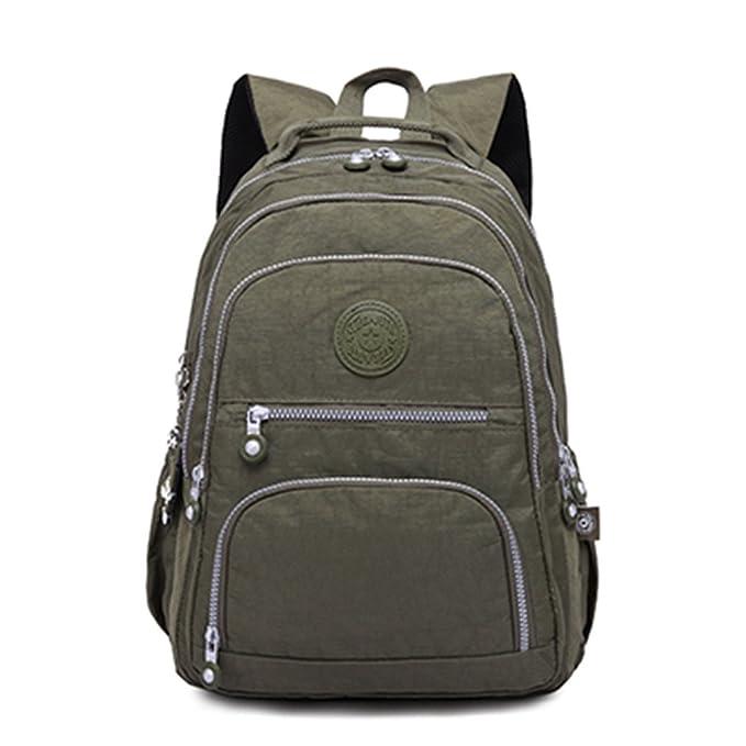 kaoling Mochila femenina mochila escolar para adolescentes mochilas portátiles bolsas de viaje casual: Amazon.es: Ropa y accesorios
