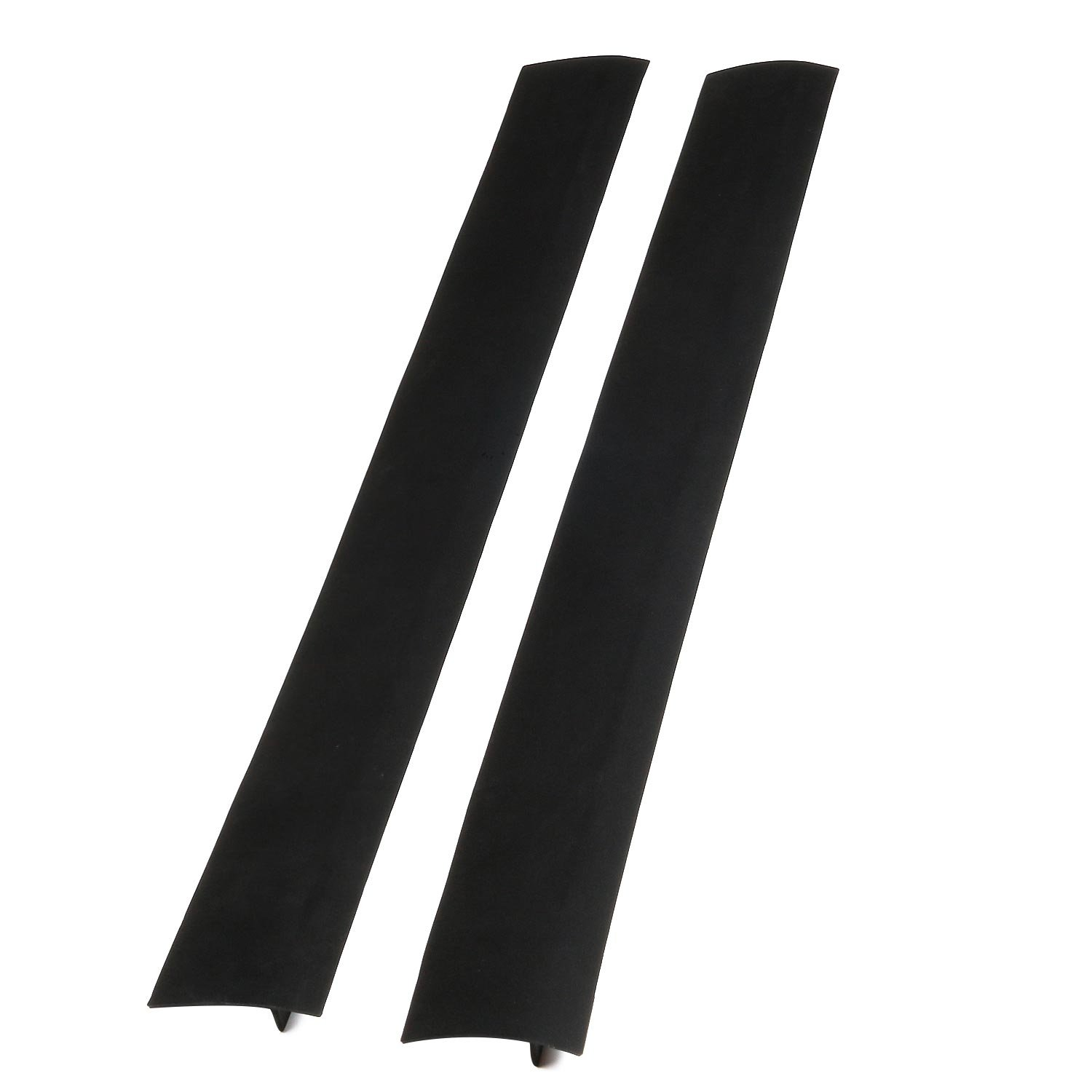 Flying Colors Kitchen Silicone Stove Counter Gap Cover - Set of 2 - Stove Gap, Gap for stoves, Cooktop Accessories, Black