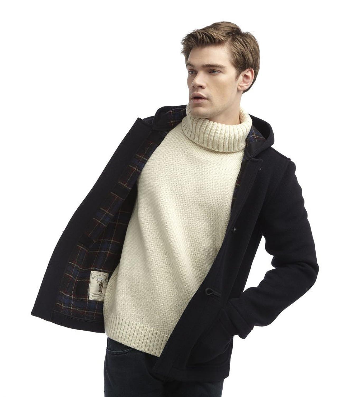 Original Montgomery Mens Short Duffle Coat -- Toggle Coat Navy at ...