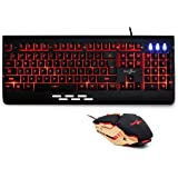 Redgear Manta MT21 Gaming Keyboard and Gaming Mouse Combo (Black)